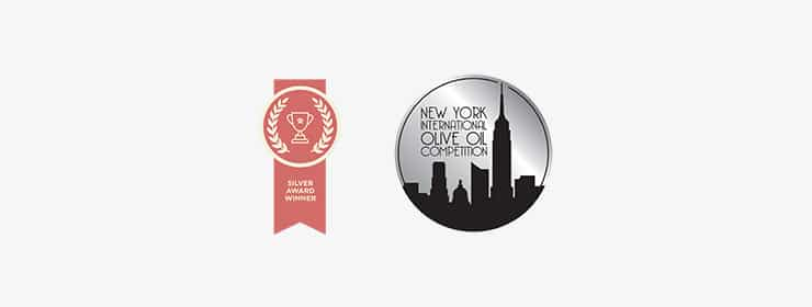 New York Olive Oil Competition 2016 Silver Metal